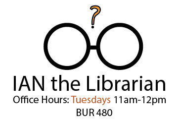 Ian the Librarian Office Hours