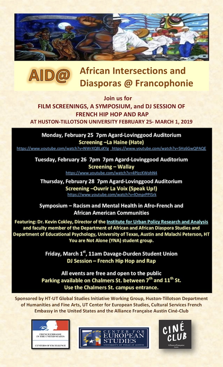 French Film Festival - AID@: African Intersections and Diasporas @ Francophonie presents