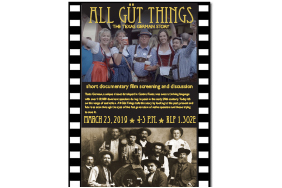 All Güt Things: A short documentary film test screening and discussion