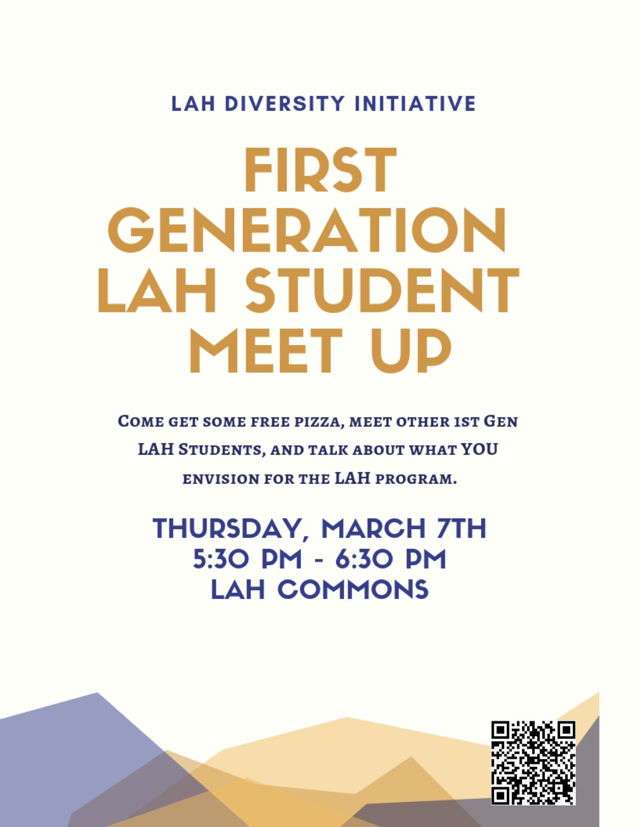 LAH First Gen Student Meetup