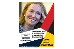 Dr. Emily Haber German Ambassador to the United States Talk