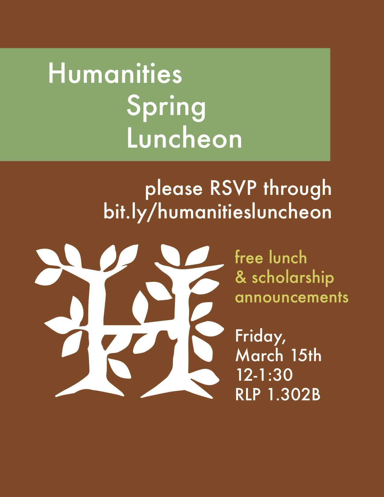Humanities Spring Luncheon