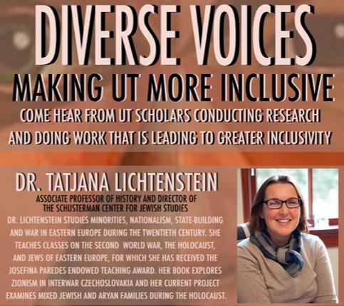 Diverse Voices with Dr. Tatjana Lichtenstein