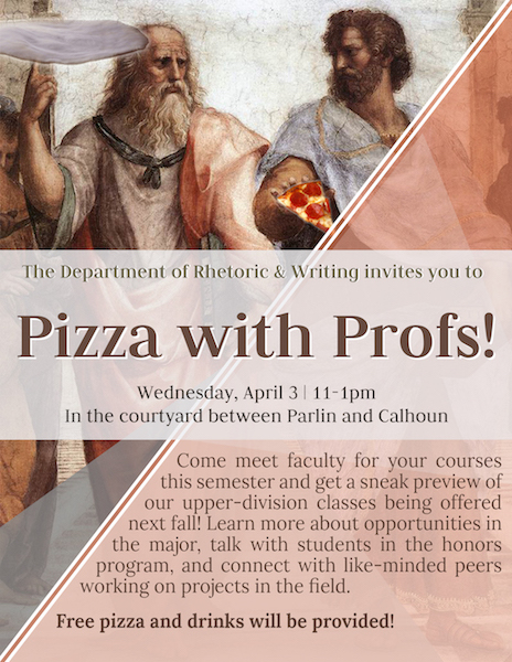 Pizza with Profs!