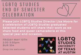 LGBTQ Studies Graduates Celebration