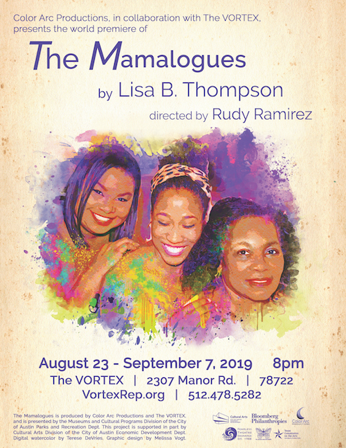 Affiliate Event: The Mamalogues World Premiere, August 23 - September 7, 2019