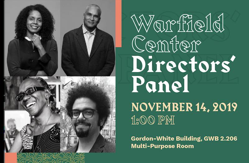Warfield Center Directors' Panel