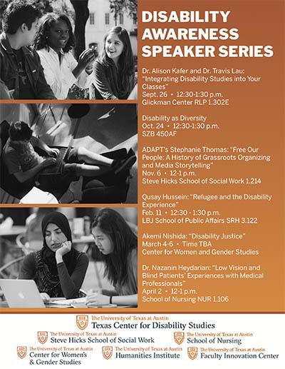 Disability Awareness Speaker Series