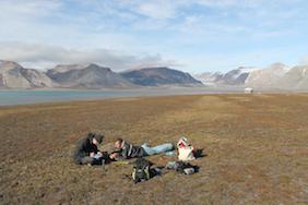 Fieldwork in Spitsbergen