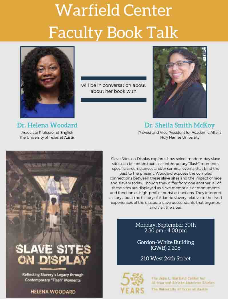 Helena Woodard: Faculty Book Talk