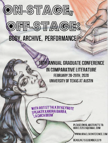 16th Annual Graduate Conference on Comparative Literature