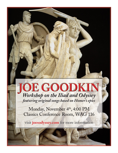 Joe Goodkin: workshop on the Iliad and Odyssey