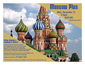 Moscow Plus Program Information Session for Summer 2020