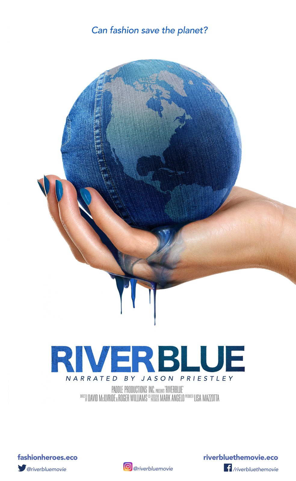 Riverblue Movie Poster