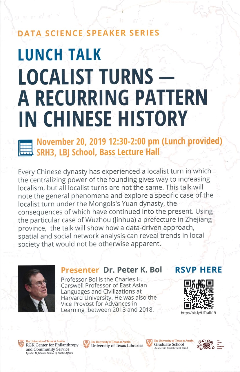 Localist Turns – A Recurring Pattern in Chinese History