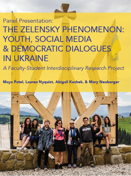 The Zelensky Phenomenon: Youth, Social Media & Democratic Dialogues in Ukraine