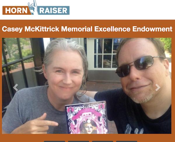 Hornraiser for LGBTQ Studies' Casey McKittrick Endowed Excellence Fund!