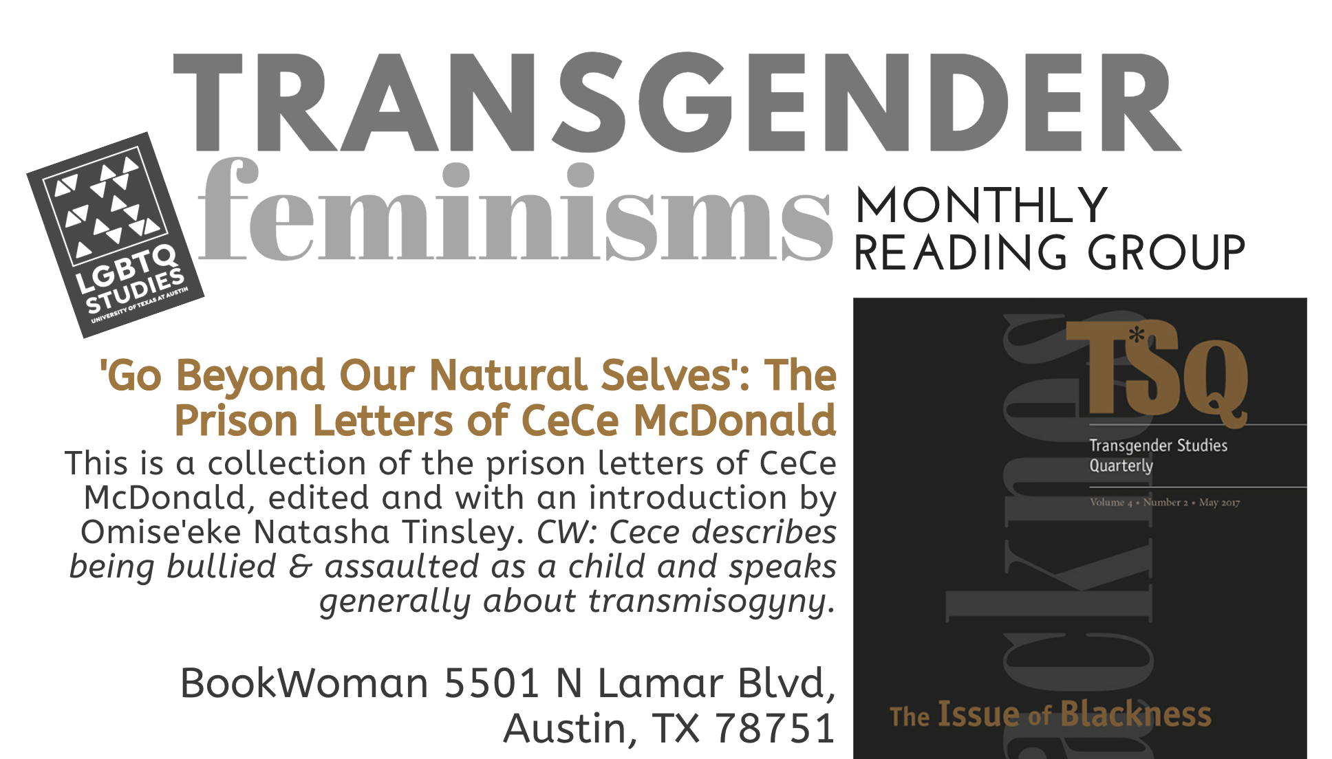 Transgender Feminisms Reading Group