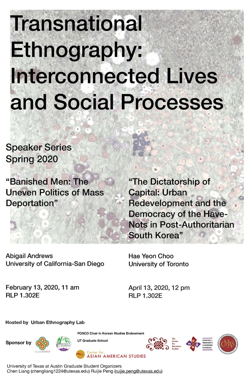 Transnational Ethnography: Interconnected Lives and Social Processes Series - The Dictatorship of Capital: Urban Redevelopment and the Democracy of the Have-Nots in Post-Authoritarian South Korea