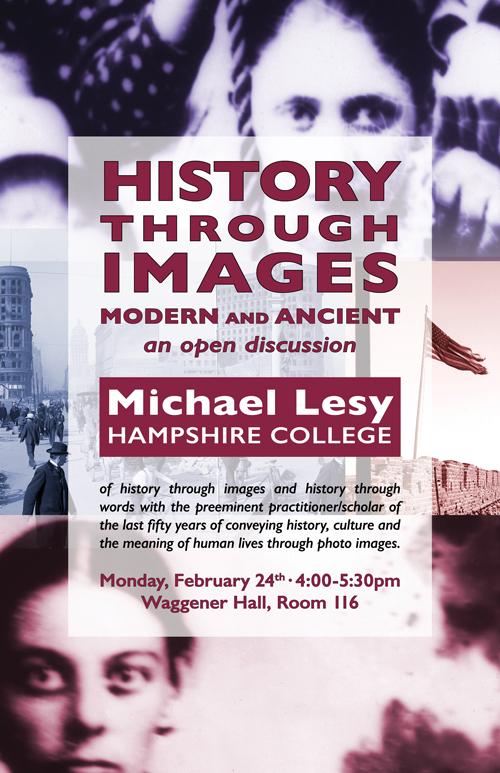 Michael Lesy, Hampshire College:
