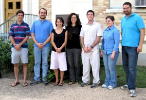 Welcome to the 2009 Graduate Students