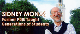 History Prof. Emeritus Sidney Monas