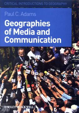 Paul Adams receives award for Geographies of Media and Communication