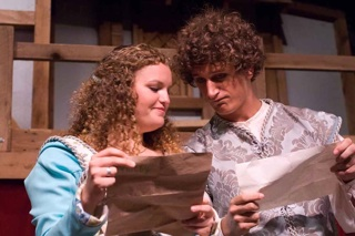 Beatrice and Benedick, Much Ado About Nothing, Summer 2009