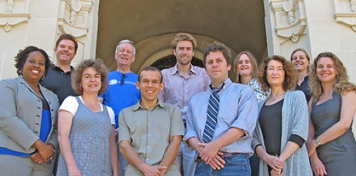 Institute Fellows 2009-10. Photo by M.G. Moore