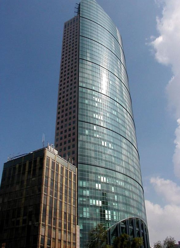 Modern high-rises in Mexico City