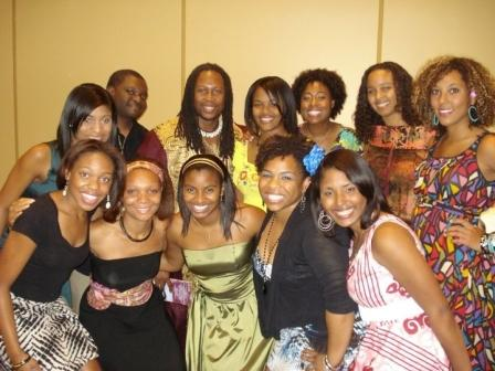 The UT Student Circle Chapter of the Association of Black Psychologists (ABPsi) and their advisor Dr. Kevin Cokley