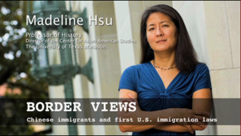 Madeline Hsu, Professor of History, Director of the Center for Asian American Studies, The University of Texas at Austin