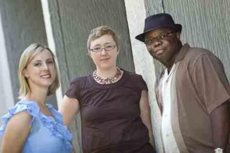 Lindsey Schell (left), Kristen Hogan, and Matt Richardson.