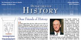 Vol. 4 of History Department Alumni Newsletter