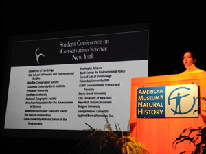 Ingrid Haeckel receives award for Best Presentation