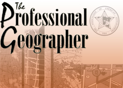 Robert Dull appointed to Editorial Board of The Professional Geographer