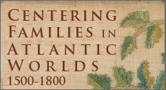 Detail, genealogy sampler made by Lorenza Fisk, Concord, Massachusetts, 1811. Courtesy, Winterthur, gift of Mrs. Alfred C. Harrison, 1969.430a,b.