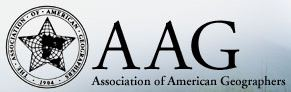 Graduate Students present in AAG National Meeting