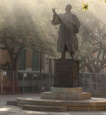 MLK statue on UT Campus
