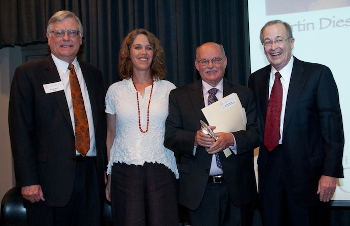 College of Liberal Arts honors Religious Studies professor with Pro Bene Meritis award