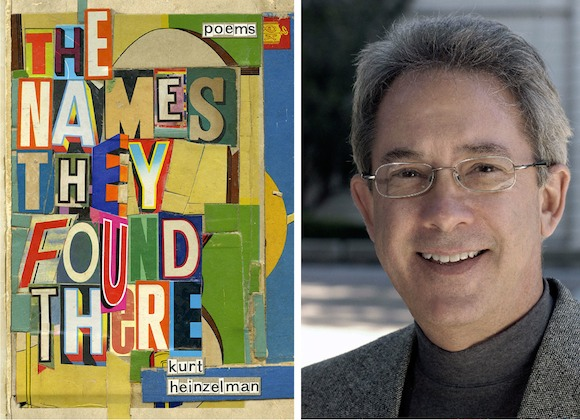 Kurt Heinzelman publishes poetry collection 'The Names They Found There'