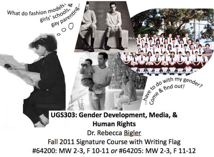 UGS303: Gender Development, Media, & Human Rights