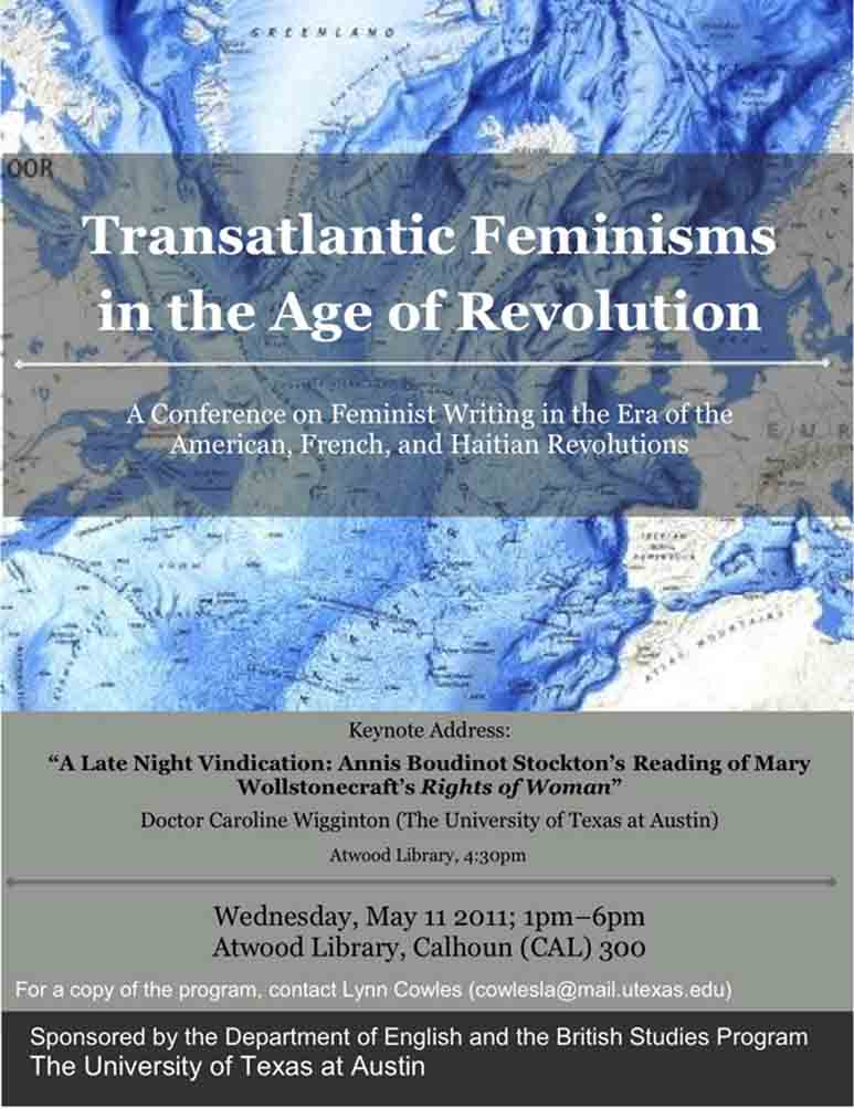 Transatlantic Feminisms in the Age of Revolution