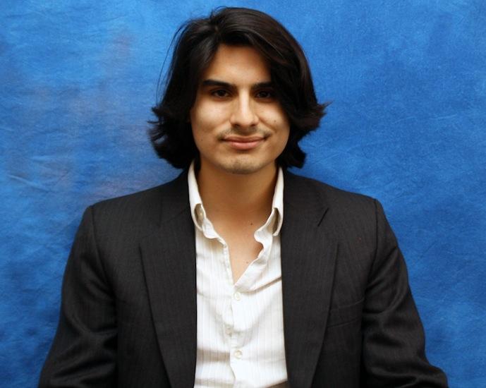 Undergraduate student Matthew Ramirez wins Mitchell Award