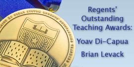 Two history professors receive System-wide teaching award