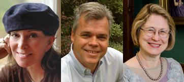 Senior Lecturer Betsy Berry, Professor James Loehlin, Professor Carol MacKay