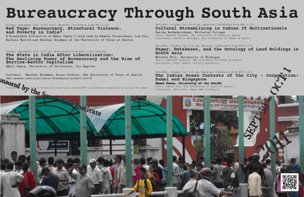Bureaucracy Through South Asia Conference