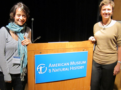 Molly Polk and Maria Jose LaRota participate in conference on conservation science