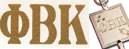 Department of English Phi Beta Kappa Membership Invitees