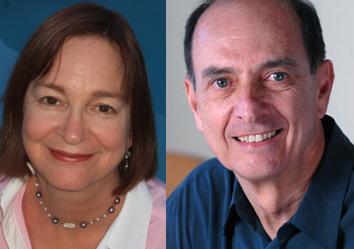Associate Professor Hannah Wojciehowski and Professor Alan Friedman